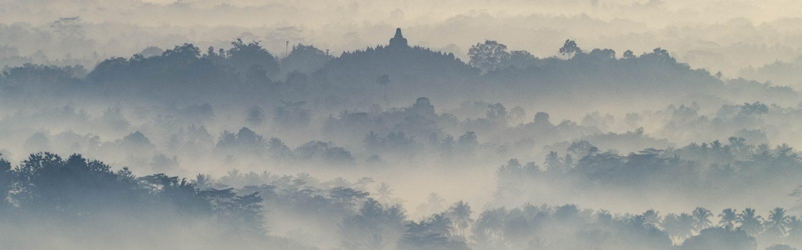 Landscape Borobudur Indonesia