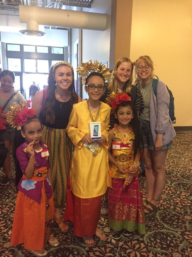 2018 Indonesian Diaspora National Convention in Chicago with kids