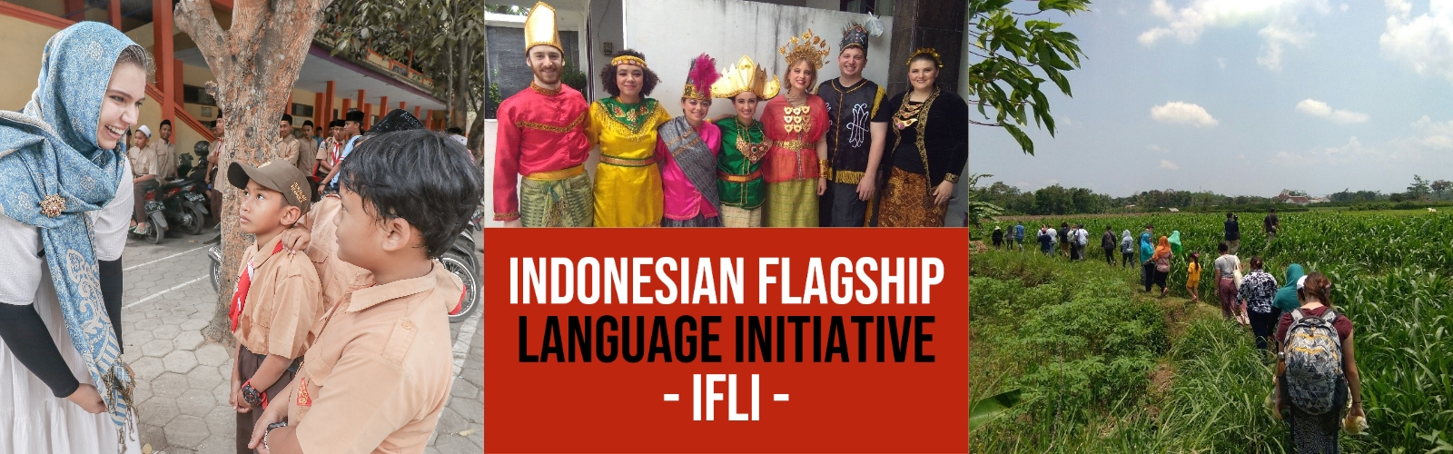 Indonesian Language Initiative Website Banner