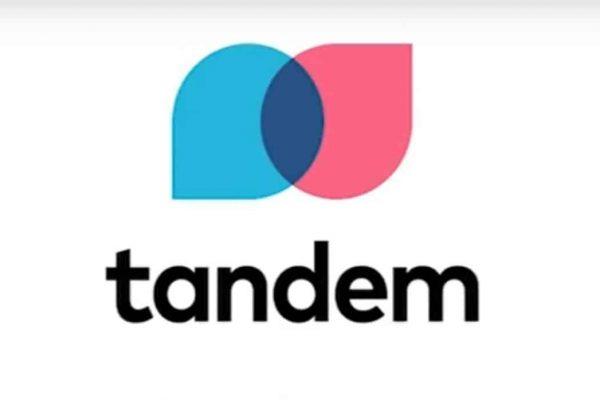Tandem logo from https://www.retailbankerinternational.com/wp-content/uploads/sites/2/2020/09/Tandem-Language-Learning-Logo-1420x698-1.jpg